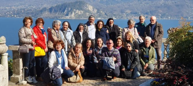 Giornata di ritiro per tutti gli operatori pastorali delle parrocchie di Stresa e Frazioni al monastero benedettino della SS. Trinità di Ghiffa