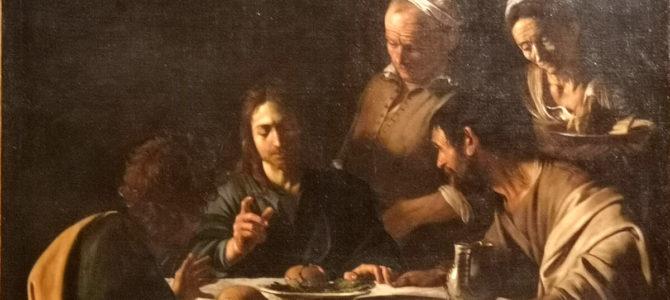 """""""Lo riconobbero nello spezzare il pane"""". Commento di don Gian Luca al Vangelo della III Domenica di Pasqua."""