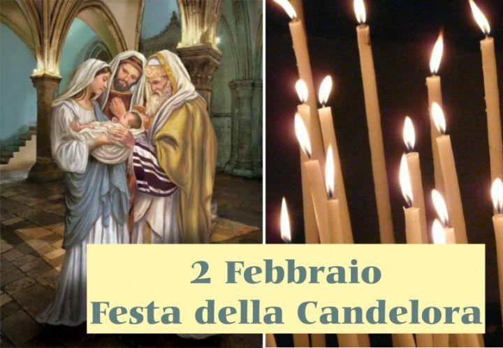 """Festivita' """"Presentazione al tempio di Gesù"""" (Candelora) portata a Domenica 7 febbraio in tutte le Parrocchie"""